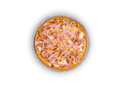 "Craft Pizza in tray mushrooms + cheese + ham <font class=""aku-hidden-g"">