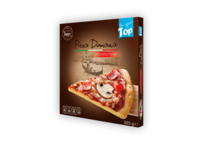 "Pizza Domana Prosciutto & Funghi (Ham & Mushroms)  |  box <font class=""aku-hidden-g"">| 305g</font>"