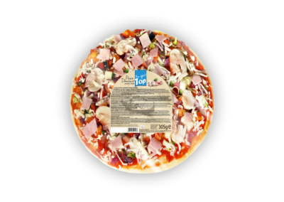 "Pizza Domana Prosciutto & Funghi (Ham & Mushroms)  |  open <font class=""aku-hidden-g"">| 305g</font>"
