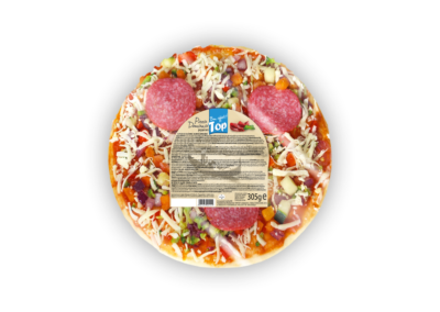 "Pizza Domana Pepperoni (Salami)  |  folia <font class=""aku-hidden-g"">