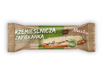 "Craft Baguette with mushrooms and cheese  |  flowpack <font class=""aku-hidden-g"">