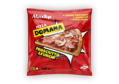 "Pizza Domana Prosciutto & Funghi (Ham & Mushroms) | flowpack <font class=""aku-hidden-g"">| 305g</font>"