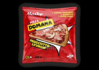 "Pizza Domana Prosciutto&Funghi (Szynka i Pieczarka) | flowpack<font class=""aku-hidden-g""> | 305g</font>"